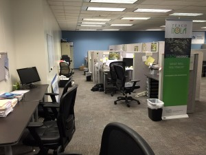 The teachNOLA/TNTP Academy office