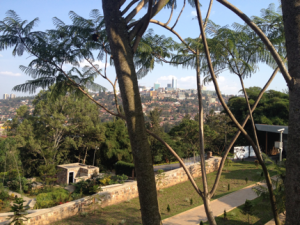 View of Kigali from the Kigali Genocide Memorial